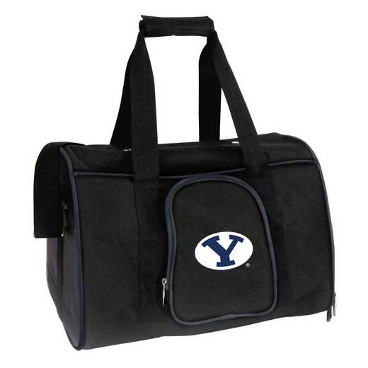 CLBYL901: NCAA Brigham Young Cougars Pet Carrier Premium 16in bag